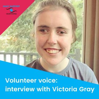 We're excited to be launching a series of interviews with all sorts of people involved in Sight Support Worthing.  Members, staff, trustees and volunteers: we're going to be meeting them all! If you're a member and you'd like to be featured, please do get in touch.  Our first wonderful interviewee is a volunteer with us: Victoria Gray. Head over to the blog on the website to find out more about Victoria....   #VictoriaGray #Interview #VolunteerVoice #VisuallyImpaired #VisualImpairment #VisionImpaired #Blind #Blindness #SightLoss #PartiallySighted #Worthing #Volunteer #SightSupport #WestSussex #Adur