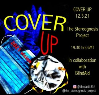 Catch the Cover Up! art exhibition tomorrow on Zoom. Friday 12th March, 7:30pm. It's an audio-described exhibition by @the_stereognosis_project and @blndaid1834 Find out how artists have transformed a blank surgical mask using paint, drawing, sculpture, embroidery and even transcribing lyrics and poetry on them.  For more details contact Clarissa cferguson@blindaid.org.uk or 07735 091244  #AudioDescribed #VisuallyImpaired #VisualImpairment #VisionImpaired #Blind #Blindness #SightLoss #PartiallySighted #Worthing #Volunteer #SightSupport #WestSussex #Adur