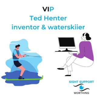 To be honest, we only came across Ted Henter recently but we thought he was a great person to be our first VIP. We love the fact that he not only invented a brilliant product for the visually impaired, but then went on to become a top notch waterskiier.  Ted Henter is an American who, in 1978 aged 21, had a car accident that left him blind. In his early 20s he completed an Engineering background but after his accident he felt that opportunities for a blind engineer were limited. With this in mind, he took a series of courses with the aim of becoming a computer programmer. This led Ted to start developing some of the first talking computers for blind people in the early 80s.  Ted Henter's most famous invention (so far!) is JAWS – Job Access With Speech. JAWS is a computer program that translates what's on a computer screen into voice or Braille. Ted believed that being visually impaired should not stop you from living your life to its full potential. This translated into a desire to create a product to assist with finding work. Ted also worked on other assistive technologies for helping visually impaired people in everyday life.  And what of Ted's waterskiing prowess? Prior to his accident, Ted was to become a professional motorcycle racer. With that no longer an option, he returned to a previous hobby of waterskiing which he triumphed at. Before his retirement in 1991 Ted won six out of seven competitions in the United States and scored two international wins. He also won the overall Gold medal in the United States and World Championship for Disabled Skiers.  What an inspiration!   #TedHenter #VIP #VisuallyImpaired #VisualImpairment #VisionImpaired #Blind #Blindness #SightLoss #PartiallySighted #Worthing #Volunteer #SightSupport #WestSussex #Adur