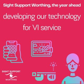 One of our objectives this year is to develop our technology for VI service. You can read more about how we're going to do this in our new blog post on the website.  We'd also love feedback or suggestions about how you'd like to see the service develop.   #TechForVI #Technology #VisuallyImpaired #VisualImpairment #VisionImpaired #Blind #Blindness #SightLoss #PartiallySighted #Worthing #Volunteer #SightSupport #WestSussex #Adur