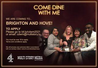 Fancy your 15 minutes of fame or looking for a chance to show off your hosting and culinary skills? Channel 4's Come Dine with Me is looking for local participants! Filming takes place in May (24th-28th) and you can apply by visiting this link: bit.ly/cdwm2021 (you'll have to copy and paste from Instagram) Once you've made your application a member of the casting team will be in touch. We'd love to know if you are successful!  #ComeDineWithMe #VisuallyImpaired #VisualImpairment #VisionImpaired #Blind #Blindness #SightLoss #PartiallySighted #Worthing #Volunteer #SightSupport #WestSussex #Adur